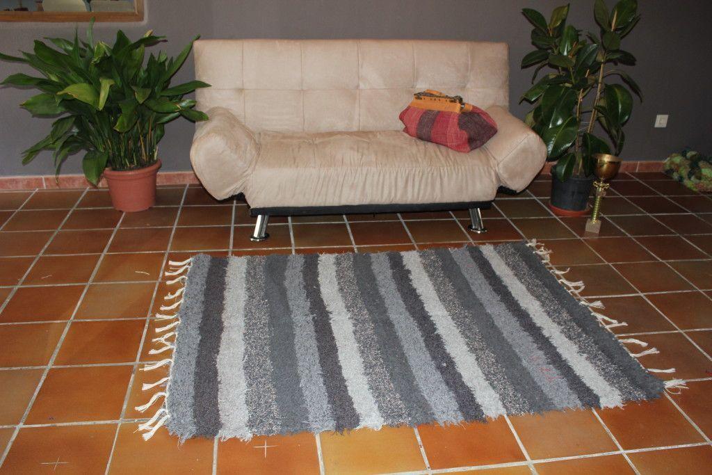 Alfombra Alpujarreña tonos grises
