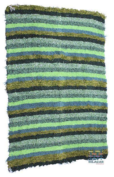 Jarapa Alpujarreña tonos verdes