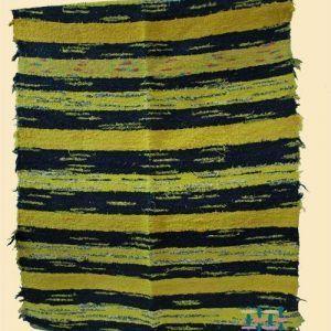 Jarapa Alpujarreña tonos amarillo y negro