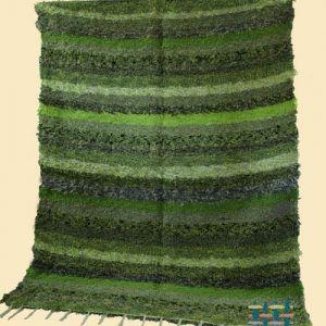Jarapa Alpujarreña en tonos verdes