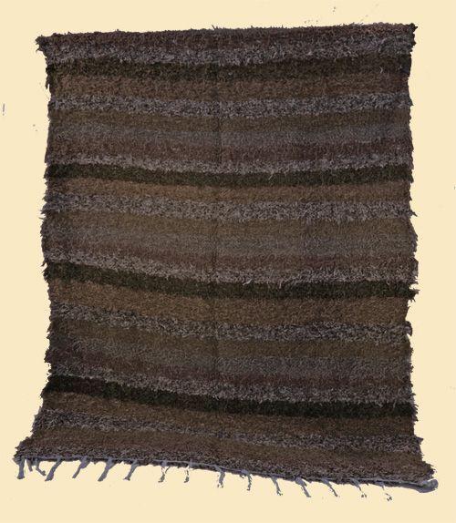 Alfombra Alpujarreña tonos marrones