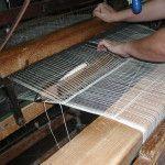 Lanzadera del telar artesano de la Alpujarra