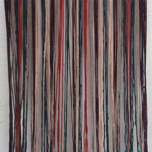 cortina de tira de jarapa