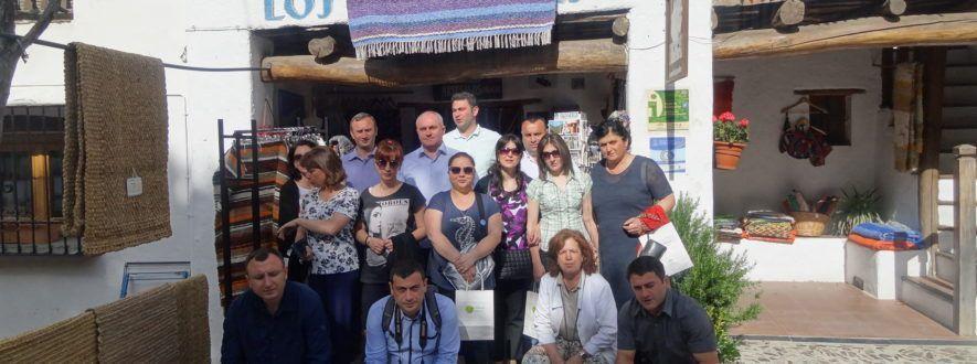 Visita del Grupo de Acción Local Lagodekhi de Georgia a la Alpujarra
