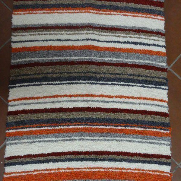 artesana gris-naranja