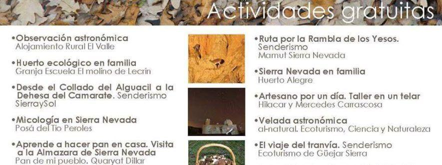 VIII Encuentro de Ecoturismo Sierra Nevada