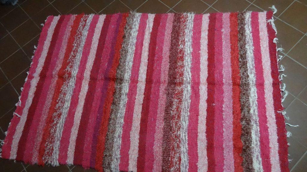 Jarapa, alfombra Alpujarreña en salón