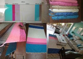 """5 Steps to design your """"jarapa"""" rug"""