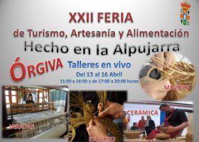 """(Español) FERIA """"HECHO EN LA ALPUJARRA XXII"""""""