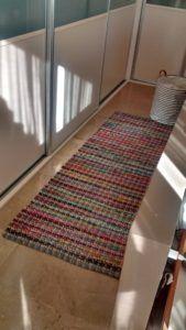jarapa, alfombra de pasillo