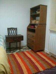 Jarapa, alfombra alpujarreña en naranjas, destinado a multitud de sitios de la casa