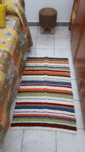Jarapa colorines pie de cama
