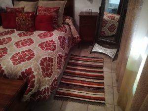 Jarapa pie de cama