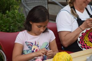Dia mundial de tejer en público